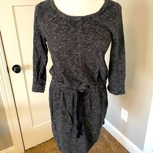 Loft sweatshirt dress (Gray)